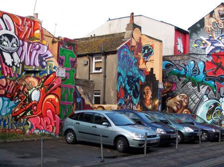 Murs peints à Brighton